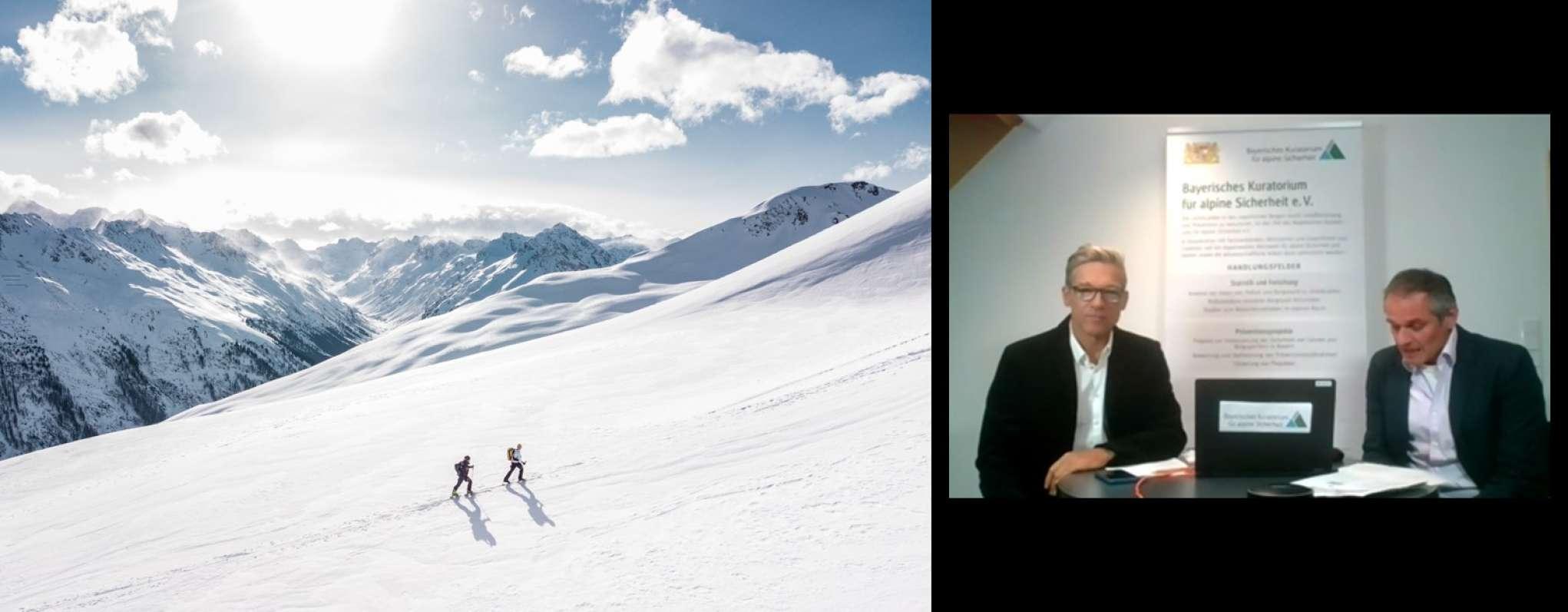 Digitale Konferenz - Alpine Sicherheitsgespräche 2020