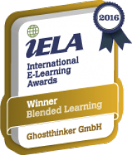 Ghostthinker internationaler ELearning AWARD 2016