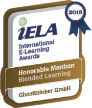 Ghostthinker internationaler ELearning AWARD 2018